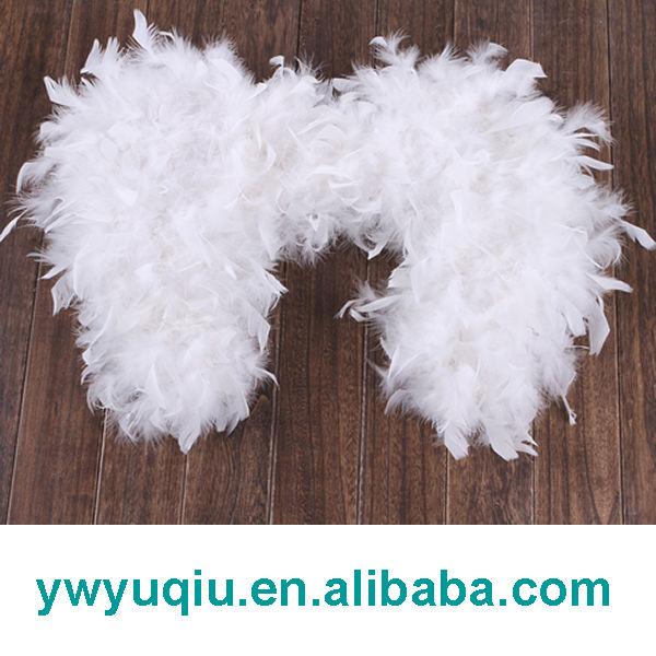 Grande de la pluma blanca alas de ángel-Suministros de fiestas y ...