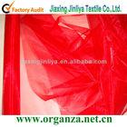 Stiff organza fabric for wedding decoration,backdrop,flower packing