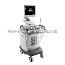 2014 Good selling YSB0218 3D trolley color doppler ultrasound unit