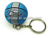 mini basketball key chain
