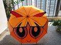 "16 "" * 8 K las chicas superpoderosas carácter niños pequeños paraguas para SH-T0009"