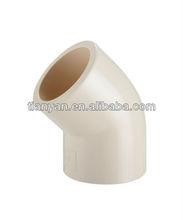 CPVC/UPVC 45 Deg Elbow DIN PN16 /CPVC 45 Deg Elbow