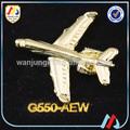 decorativos de metal alas de piloto pin insignia para la ropa