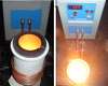 2014 small gold melting furnace with graphite crucible