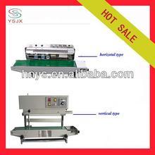 Horizontal bags date printing and sealing machine