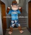 2014 productos para adultos traje de la mascota del gorila
