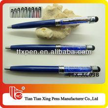 TTX-AC03B Dark blue crystal bling stylus pen