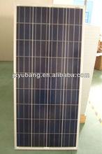 150W 12V poly crystalline solar panel photovoltaic pv panel for caravan motor home use