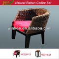 cadeira de vime de café loja