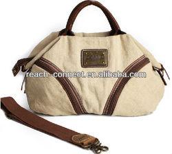 funky canvas cloth messenger bag