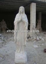 décoration extérieure en marbre blanc statue dieu