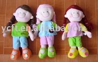 08242 Plush soft toy doll