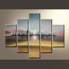Sunrise Oil Painting on Canvas