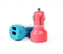 5V 2.1A Dual USB Car charger Wholesales usb car adapter