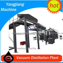 Vacuum Distillation plant for Waste Engine Car Oil Refining