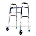 Aluminum reciprocation walker rollator handicapped walker bathroom walker