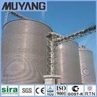 Galvanized Steel Silo Passed ISO9001:2008 & CE_1000-18000ton Steel Silo For Sale