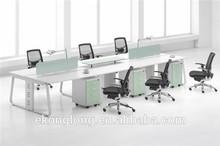 Simple office partition /workstation/standard sizes of workstation furniture