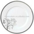 """10.5"""" hotsale çıkartma kemik porselen yemek tabağı"""