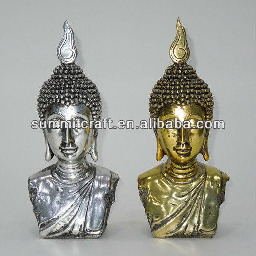 Electroplated glod buddha statue cheap buddha statue