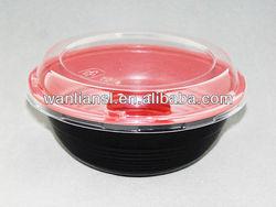 disposable plastic microwave bowl