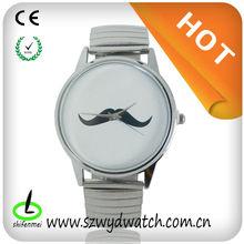 WYD-Q-002 Latest design silver strap quartz watch with high quality Watches Manufacturer & Supplier & Exporter