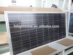 2015 Hot Sale TUV CE Standard Poly Solar Panel 150W