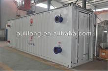 pitch heating equipment/installation