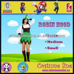 Fancy Cotton Anime Cosplay Robin Hood Girls Costume