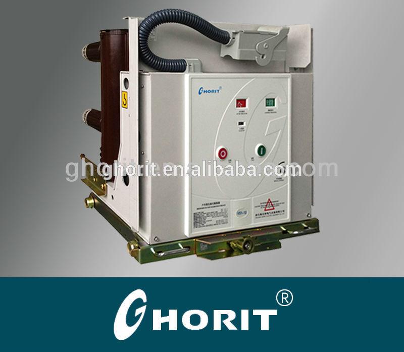 VS111kv vacuum circuit breaker 630A 25kA 150mm pole distance with drawable type