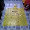 Plastic Emergency LDPE promotional adult rain poncho