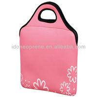 Customized Laptop Bag Neoprene Waterproof Case With handle