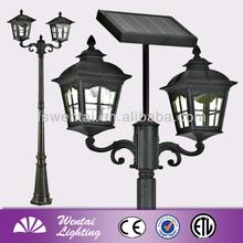 lamp post garden led outdoor solar lighting