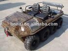 8x8 800cc amphibious quad