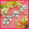 Wholesale crystal rhinestone embellishment for clothings WCK-705