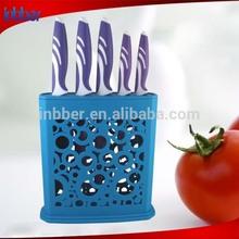 (AK043) Fashion 5pcs non-stick coated royal king kitchen knife