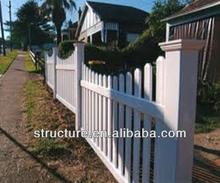 Plastic Scallop Picket Fence