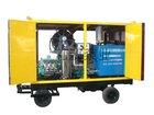 high pressure water jet drain cleaning machine