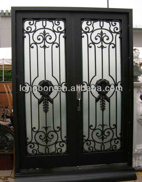 -selling newest modern iron grill door designs, View steel grill door ...