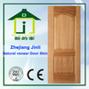 HDF/mdf 3mm natural teak veneer molded door skin JL-V0805