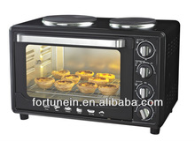30L electrical oven with hot plate