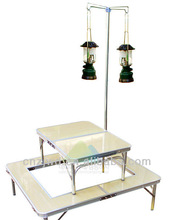 portable bbq gas grill accessory table outdoor furniture/wood design melamine Barbecue side table