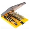Wholesale 45 in 1 Precision Torx Screwdriver Cell Phone Repair Tool Set Tweezer Mobile Kit