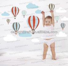 hot air balloons lifestyle kids room children wall sticker