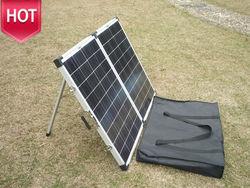 100w portable folding solar panel/folding kit outdoor