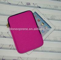 Neoprene Embossed Laptop Sleeve For ipad/ipad mini