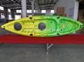Solo kayak de mar, sentarse en kayak superior
