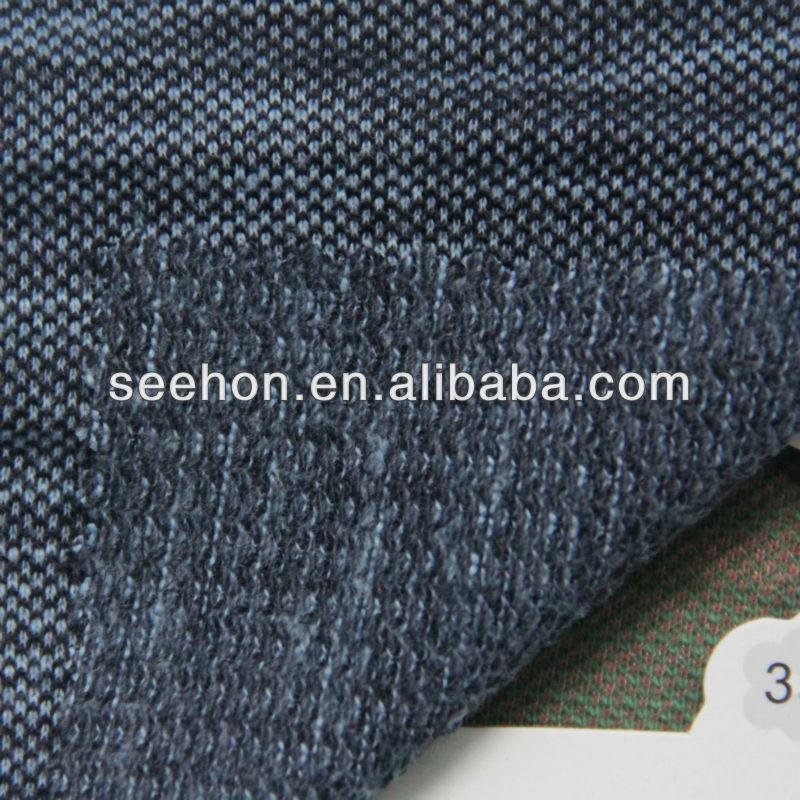 slub yarn pique fabric for T-shirt
