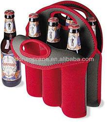 6 Bottle Wine Bag Tote Neoprene Cooler Bags