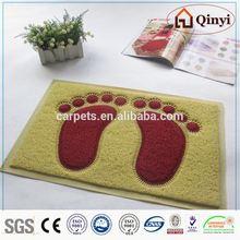 car floor mats with logo/pvc floor mat - qinyi